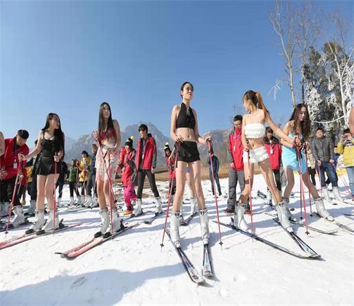 2015首届滑雪音乐节和比基尼滑雪秀完美落幕