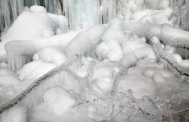 【林州摄影师白开水】大峡谷踏冰