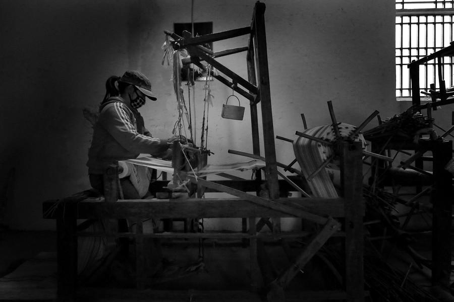 【林州摄影师寒冰】手工织布远去的记忆