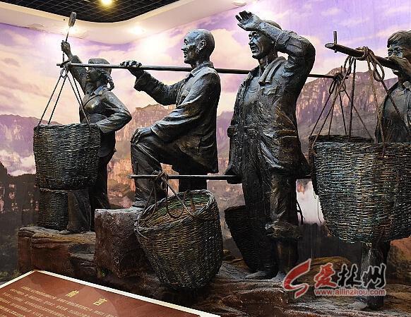 特别是红旗渠精神,扁担精神,这些财富是全国独一无二的,给林州的艺术