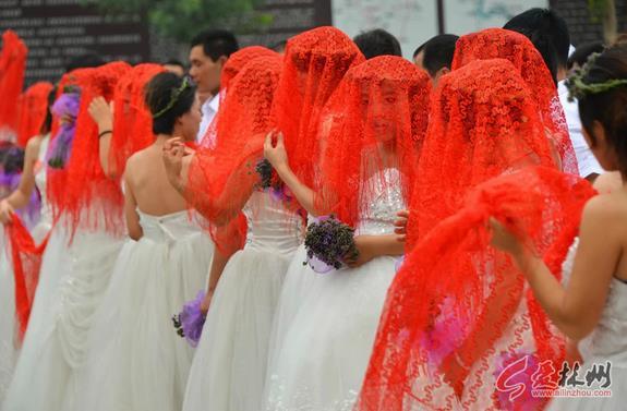 """林州""""情定万泉湖 爱你一万年""""大型集体婚礼 (4711播放)"""