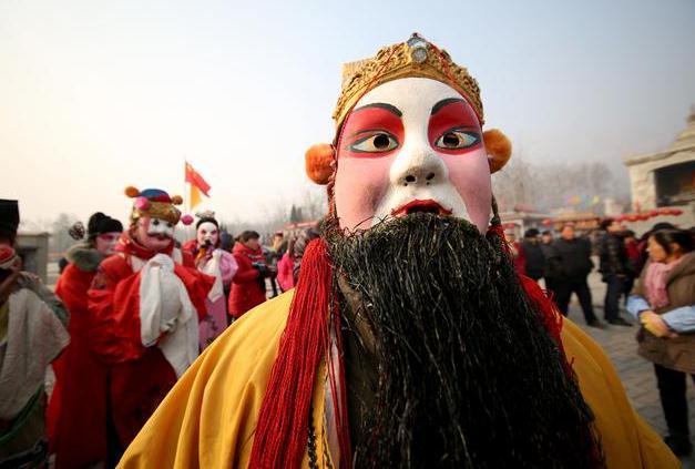 洪谷山第三届新春旅游文化节开幕