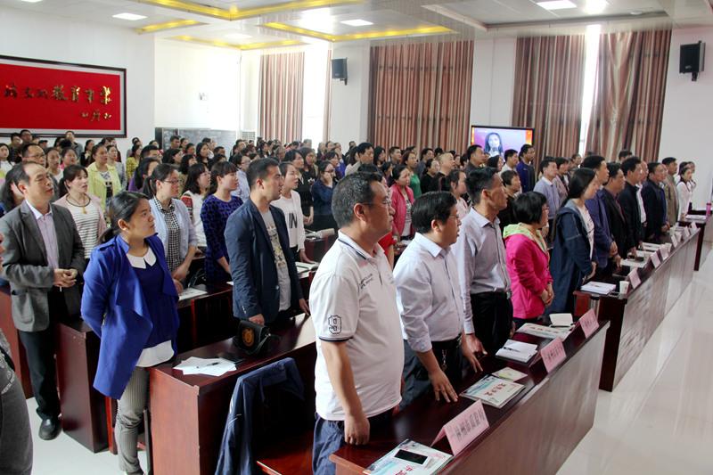 林州:文明单位第四组第二期联合道德讲堂隆重举行
