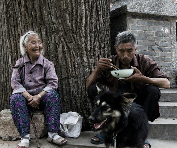 林州:村中孤寡老人