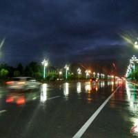 林州:暴雨过后的一道美景