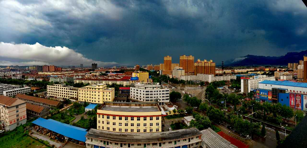 林州:大雨过后 再次变天
