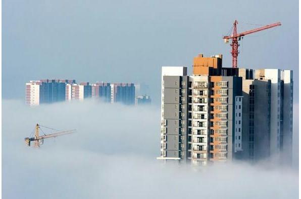 河南安阳:市区云海——尚保国摄影