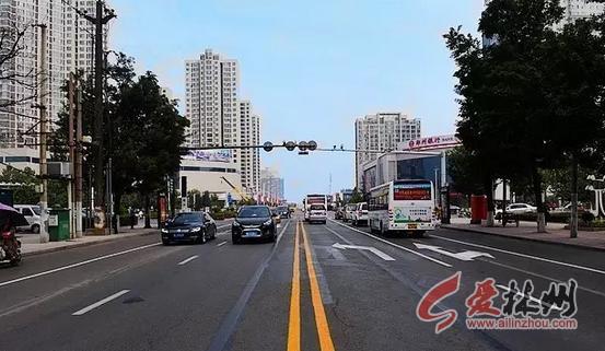 在《林州市城区道路交通问题诊断》报告中提出了太行路,龙安路当前图片
