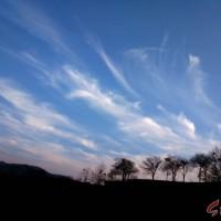 林州:雾霾走了 白云来了 天也蓝了