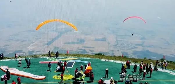 航拍助力2017林虑山国际滑翔伞公开赛精彩视频回顾