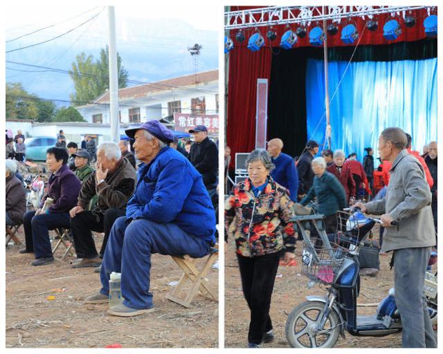 林州:老家门口唱大戏 村里人看戏用上新法宝
