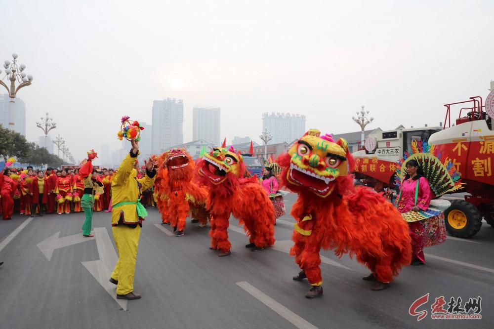 「直播」2018年林州市大型春节民间文艺汇演