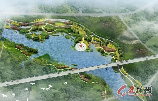 首页 信息 今日林州 03 正文  横水洹河湿地公园位于安林高速与洹河图片