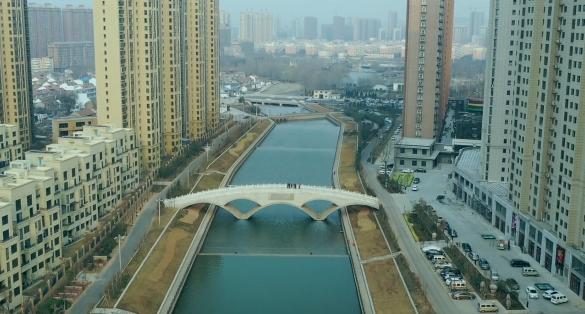 瞰——林州网红桥