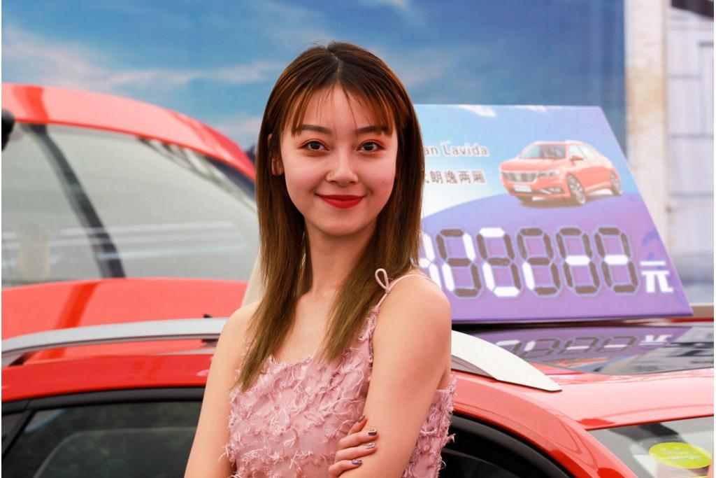 车模助阵——2019年第16届全国百强县市汽车巡展在林州市体育场如约举办