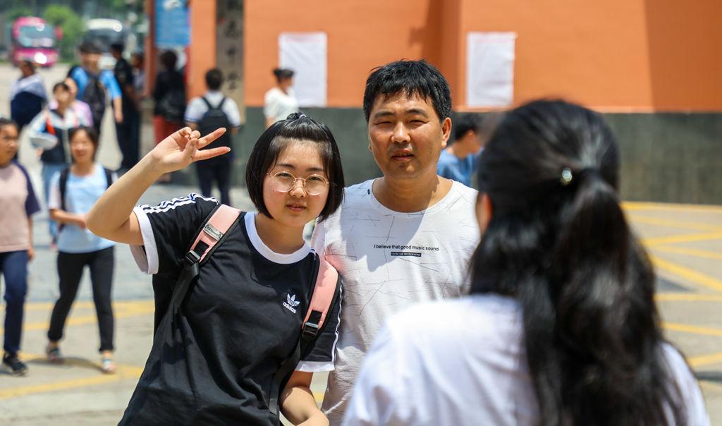 林州:2019高考活动现场实拍